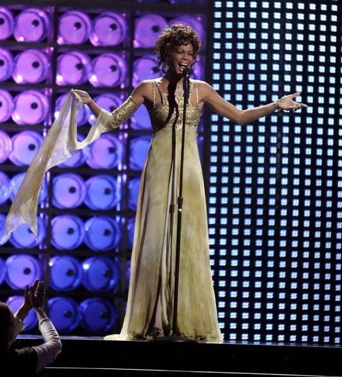 Septembre 2004 : Whitney Houston aux World Music Awards à Las Vegas