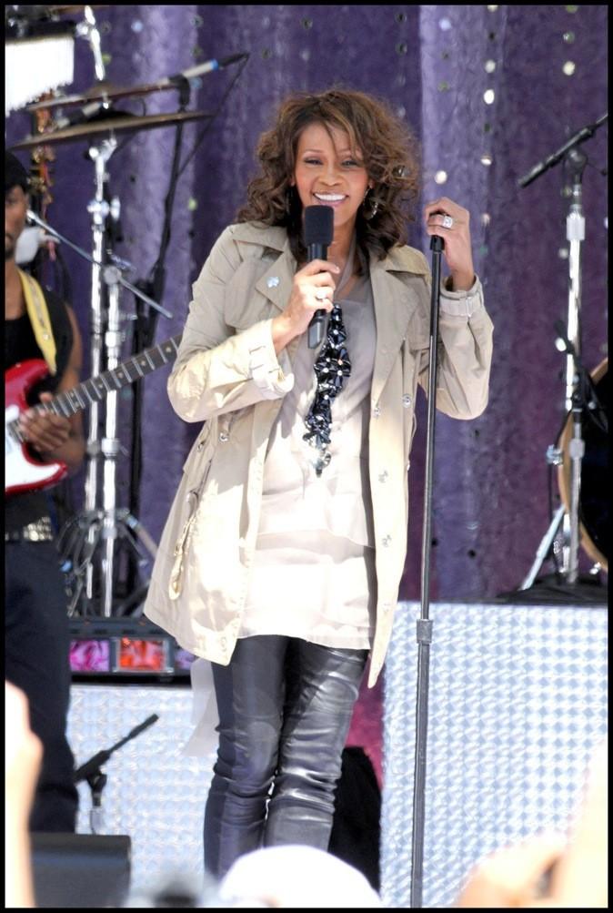 Septembre 2009 : Whitney Houston en concert à New York