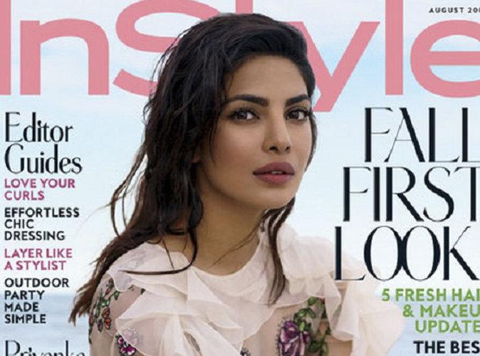 Priyanka Chopra : glamour à la plage en couverture du magazine Instyle !