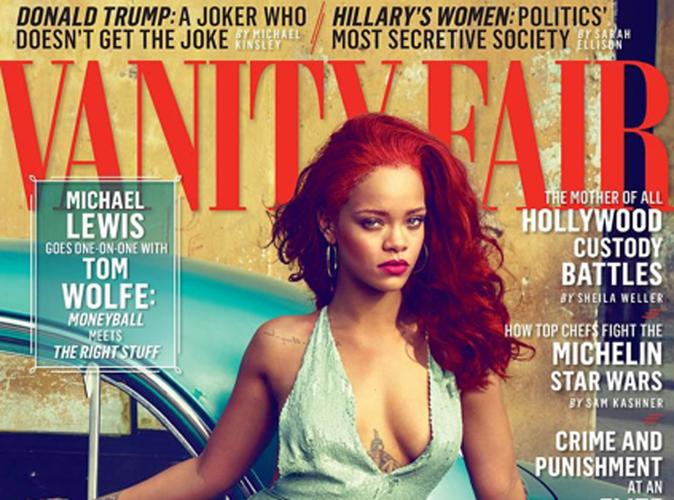 """Rihanna, fatale pour Vanity Fair : """"Je prendrai soin de Chris Brown jusqu'à ma mort"""""""