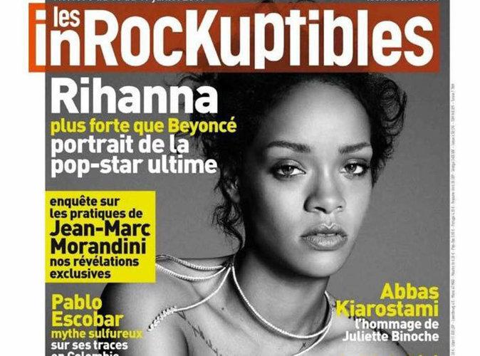 Rihanna : Naturelle et topless en couverture des Inrockuptibles !