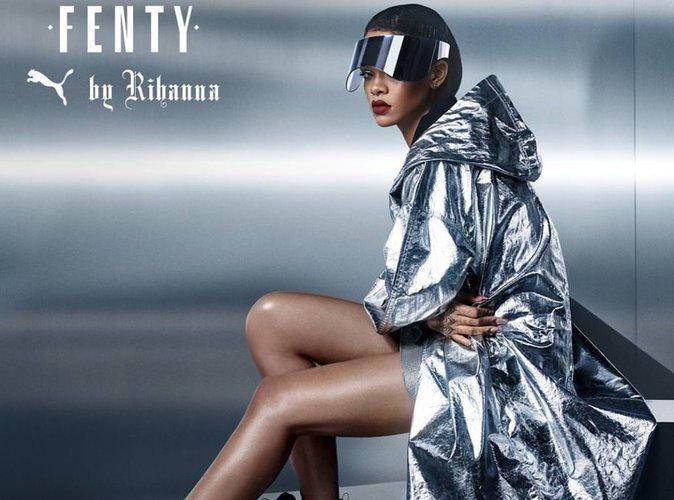 Rihanna : sexy et futuriste pour Fenty by Puma