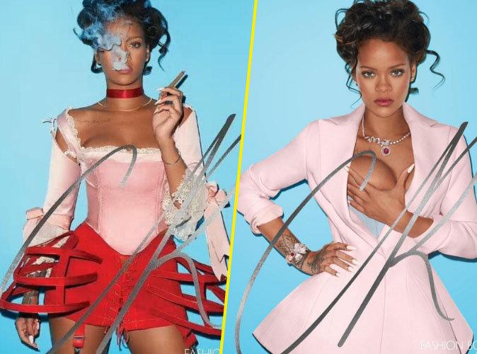 """Rihanna : une Marie-Antoinette moderne et sulfureuse pour la couverture du magazine """"CR Fashion Book"""""""