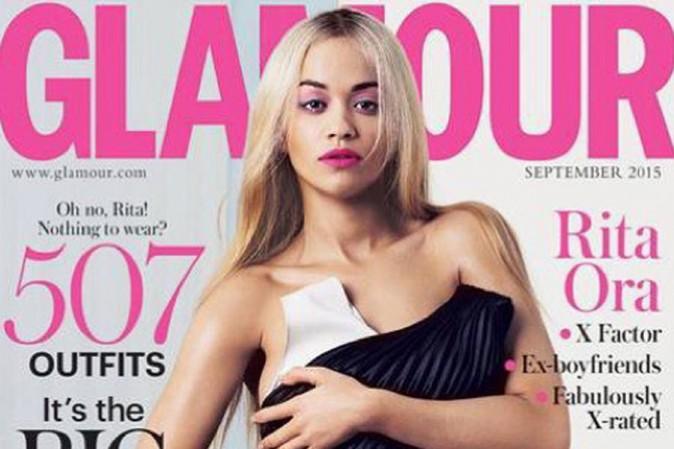 Rita Ora : elle se déshabille pour Glamour Magazine !