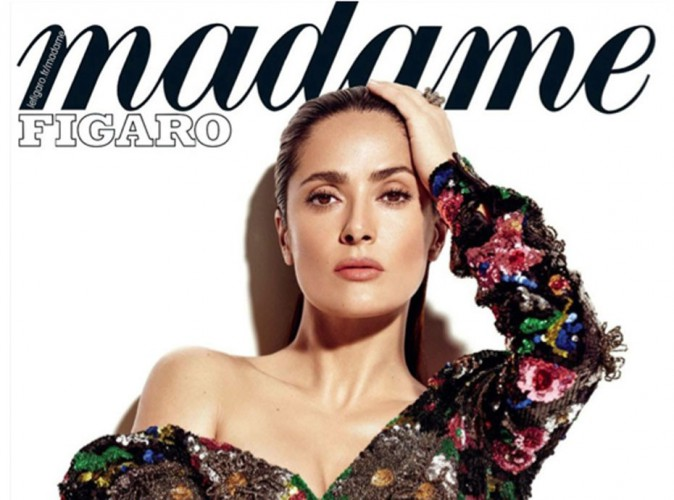 Salma Hayek : 48 ans et toujours aussi sexy pour Madame Figaro !