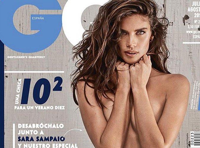 Sara Sampaio pose topless en couverture du magazine GQ Espagne !