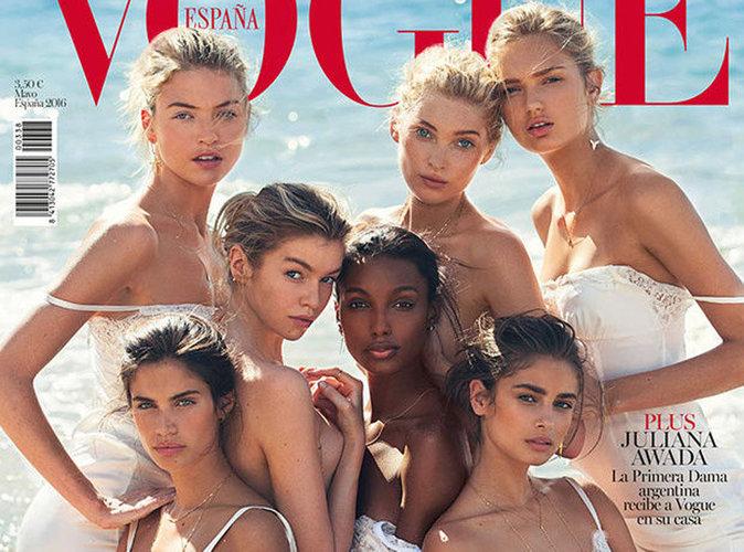 Sara Sampaio, Taylor Hill, Elsa Hosk... des Anges tombés du ciel pour Vogue Espagne