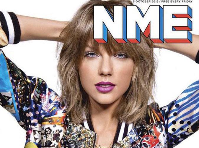 Taylor Swift : psychédélique en une de NME !