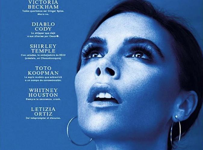 Victoria Beckham : pour L'Officiel Espagne, elle rayonne en couv' !