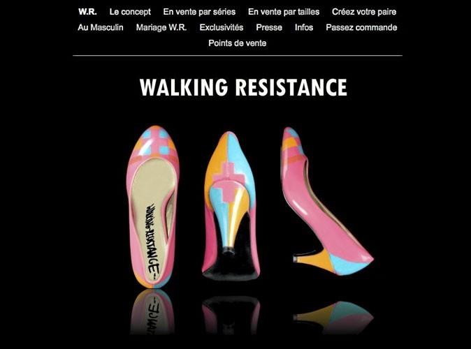 Walking Resistance : des chaussures peintes pour des pieds uniques !