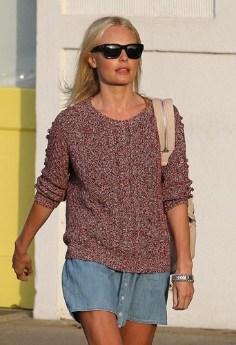 Kate Bosworth portant le pull Isabel Marant
