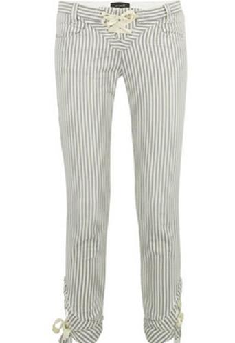 Pantalon en coton rayé, Isabel Marant