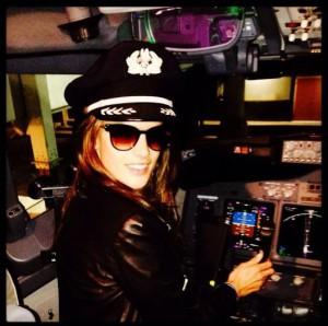 Alessandra pilote