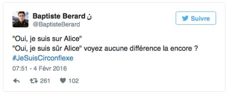 Réforme de l'orthographe : l'accent circonflexe ne disparaît pas !