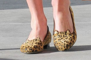 Chaussons de Nicky Hilton