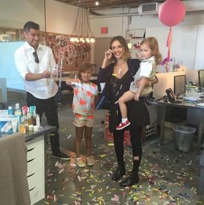Jessica Alba anniversaire