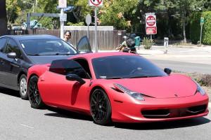Justin Bieber accident voiture