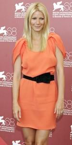 La robe orange de Gwyneth Paltrow