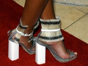 Les chaussures ethniques de Solange Knowles