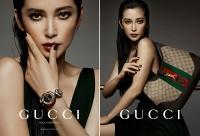 Li Bingbing pour Gucci