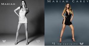mariah carey pochettes albums