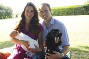 Photo officielle du prince George