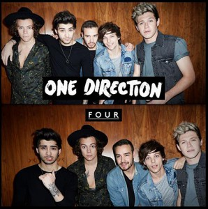 Pochette de l'album Four des One Direction