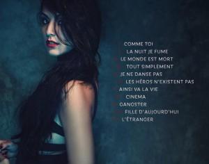 Saraah Riani tracklisting album