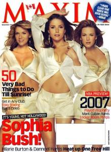 Sophia Bush Maxim 2006