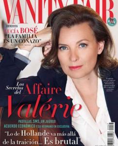 Vanity Fair espagnol Valérie Trierweiler