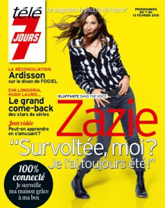 Zazie Télé 7 Jours