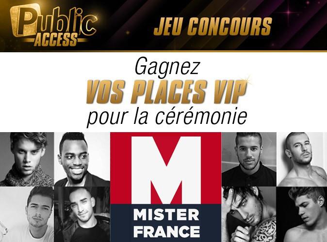 Jeu concours : gagnez vos places VIP pour la cérémonie de Mister France !