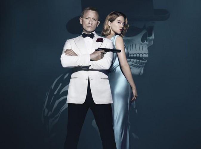 007 Spectre : Léa Seydoux en femme fatale sur la nouvelle affiche officielle !