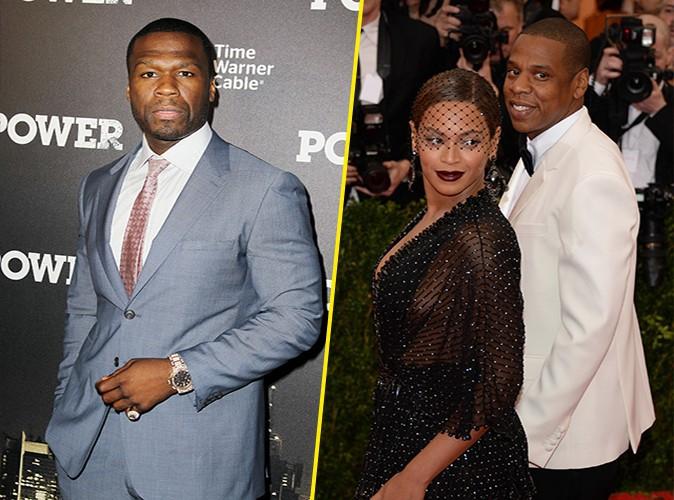 """50 Cent : """"Jay Z est trop surfait et Beyoncé n'a pas mauvaise haleine !"""""""