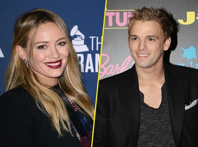 Aaron Carter : il veut reconquérir Hilary Duff !