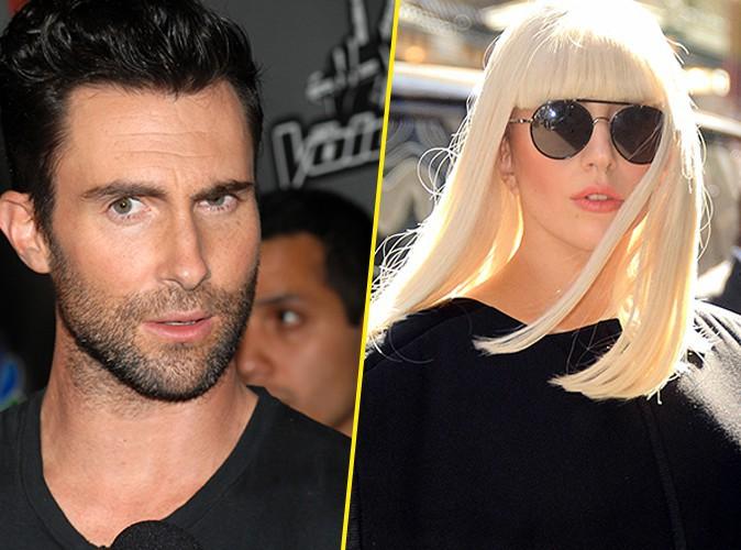 Adam Levine : énorme clash avec Lady Gaga qu'il ne considère pas comme une artiste !