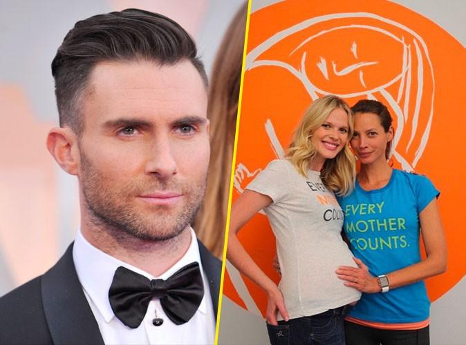 Adam Levine : son ex est enceinte !
