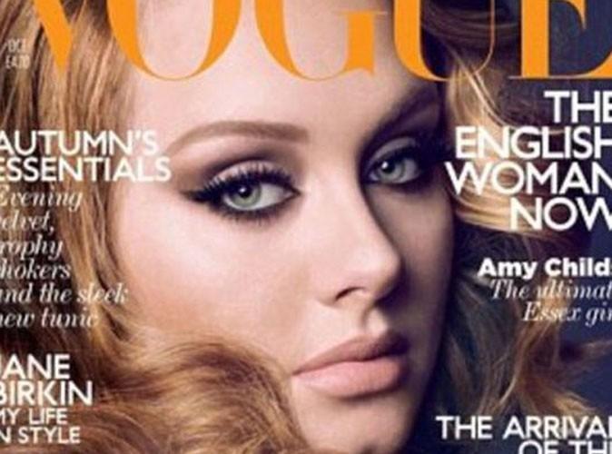 Adele : des vêtements faits spécialement à sa taille pour le Vogue US ?