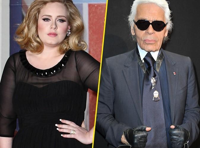Adele : Karl Lagarfeld lui fait livrer des sacs Chanel pour se faire pardonner !