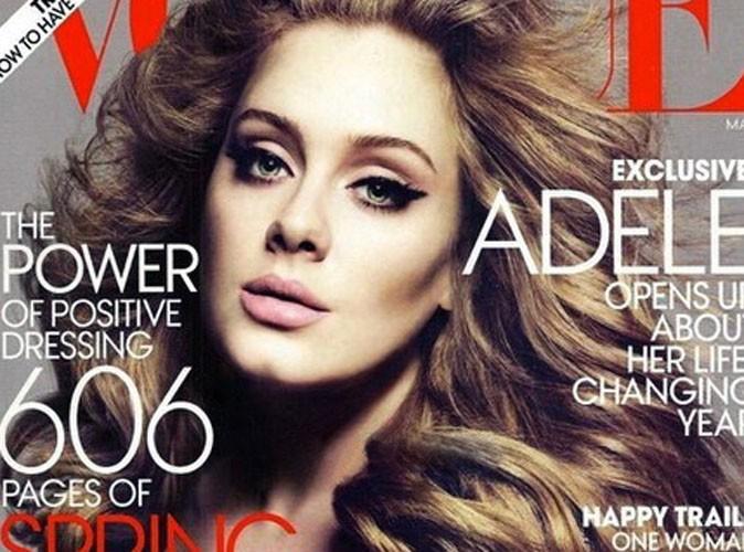 Adele : sublime et amincie en couverture de Vogue !