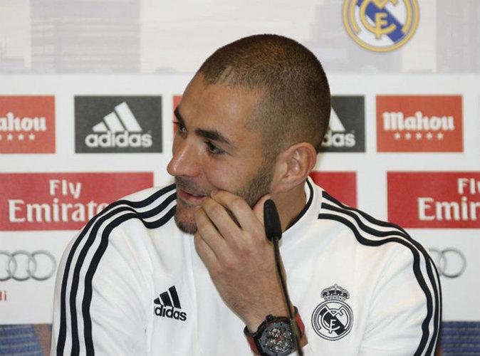 """Affaire de la sextape : Karim Benzema  a """"la conscience tranquille"""" !"""