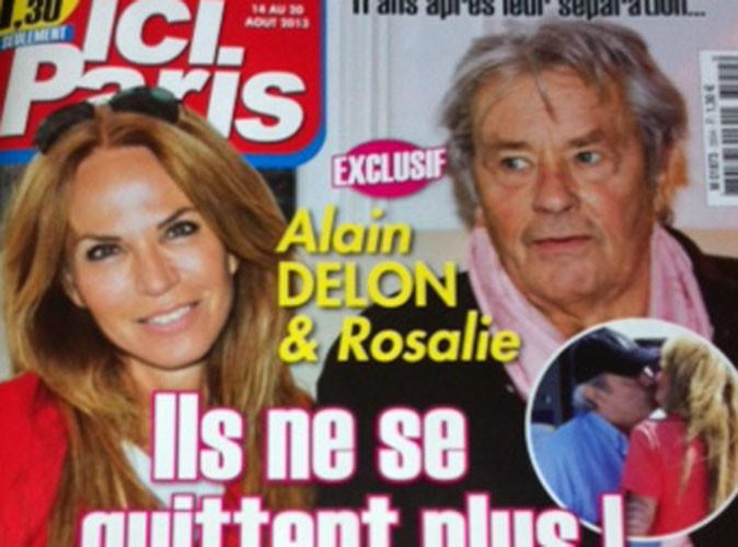 Alain Delon et Rosalie : de nouveau amoureux comme au premier jour !