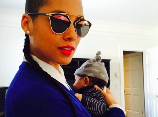 Alicia Keys : elle d�voile une nouvelle photo de son baby-boy !