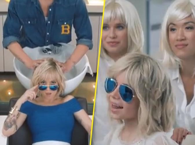 Aliz�e : sa petite Annily s'affiche blonde comme sa m�re dans son nouveau clip !