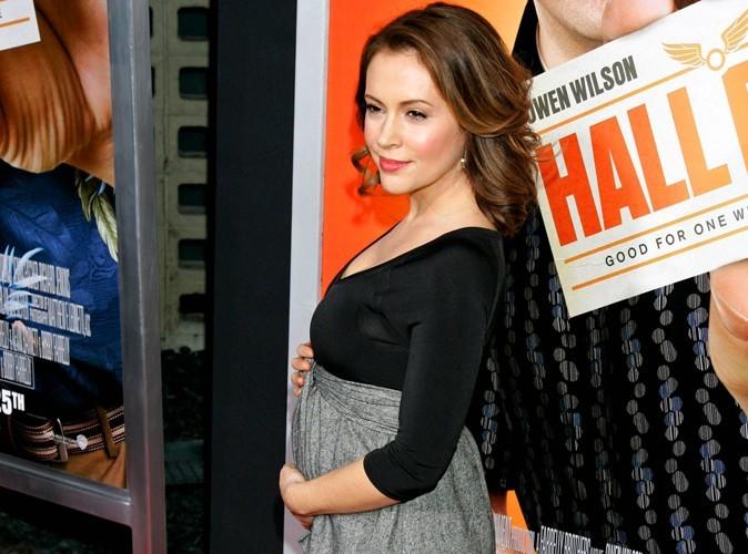 Alyssa Milano dévoile le sexe de son bébé ....