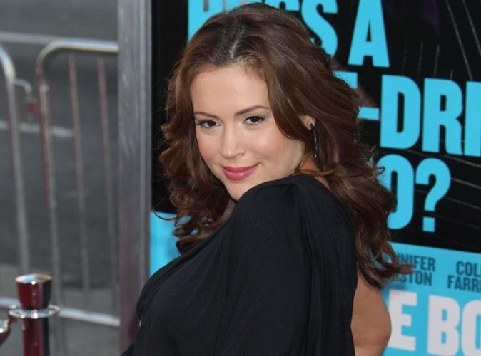 Alyssa Milano : elle va bientôt faire de la concurrence à Mariah Carey !