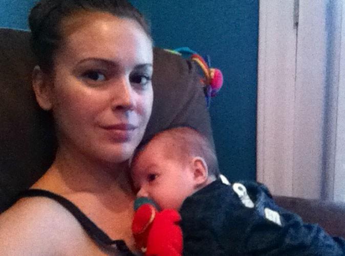 Alyssa Milano : pause tendre avec son petit Milo Thomas !