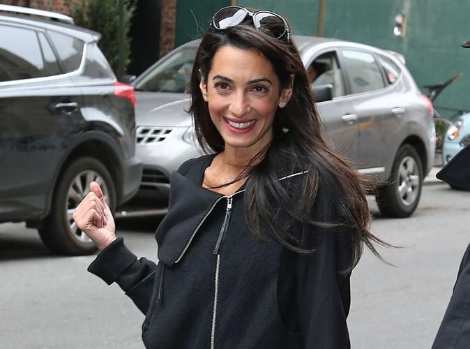 Amal Alamuddin : découvrez la superbe bague en diamant de la fiancée de George Clooney !