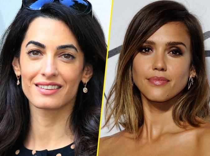 Amal Clooney en concurrence avec Jessica Alba pour animer une t�l�-r�alit� !