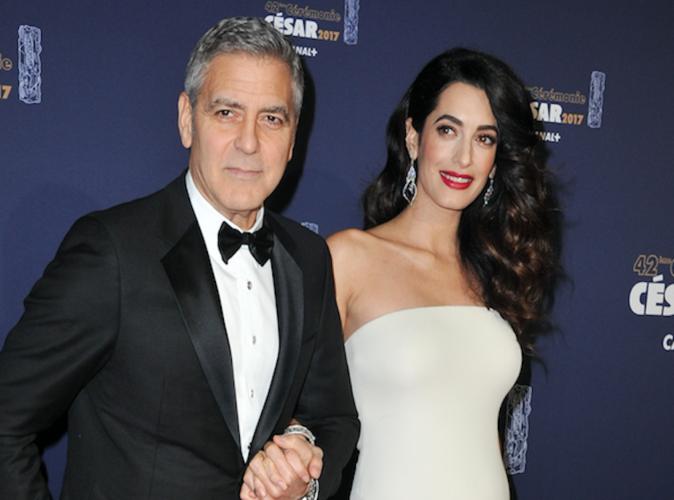 Amal et George Clooney sont parents de jumeaux !